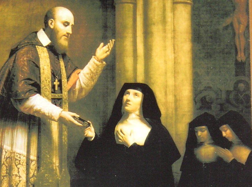 Jane de Chantal and Francis de Sales