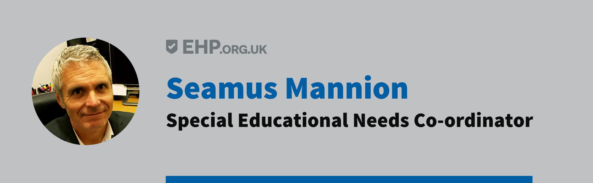 Seamus Mannion - SENCO