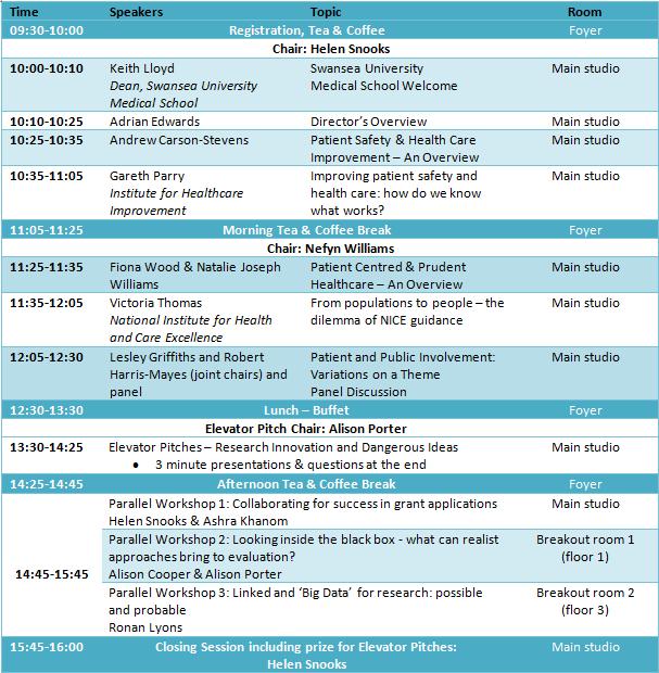 PRIME Centre Wales Annual Event Programme 2017