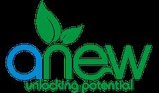 anew unlocking potential logo