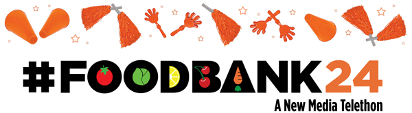 FoodBank24: A New Media Telethon Pep Rally