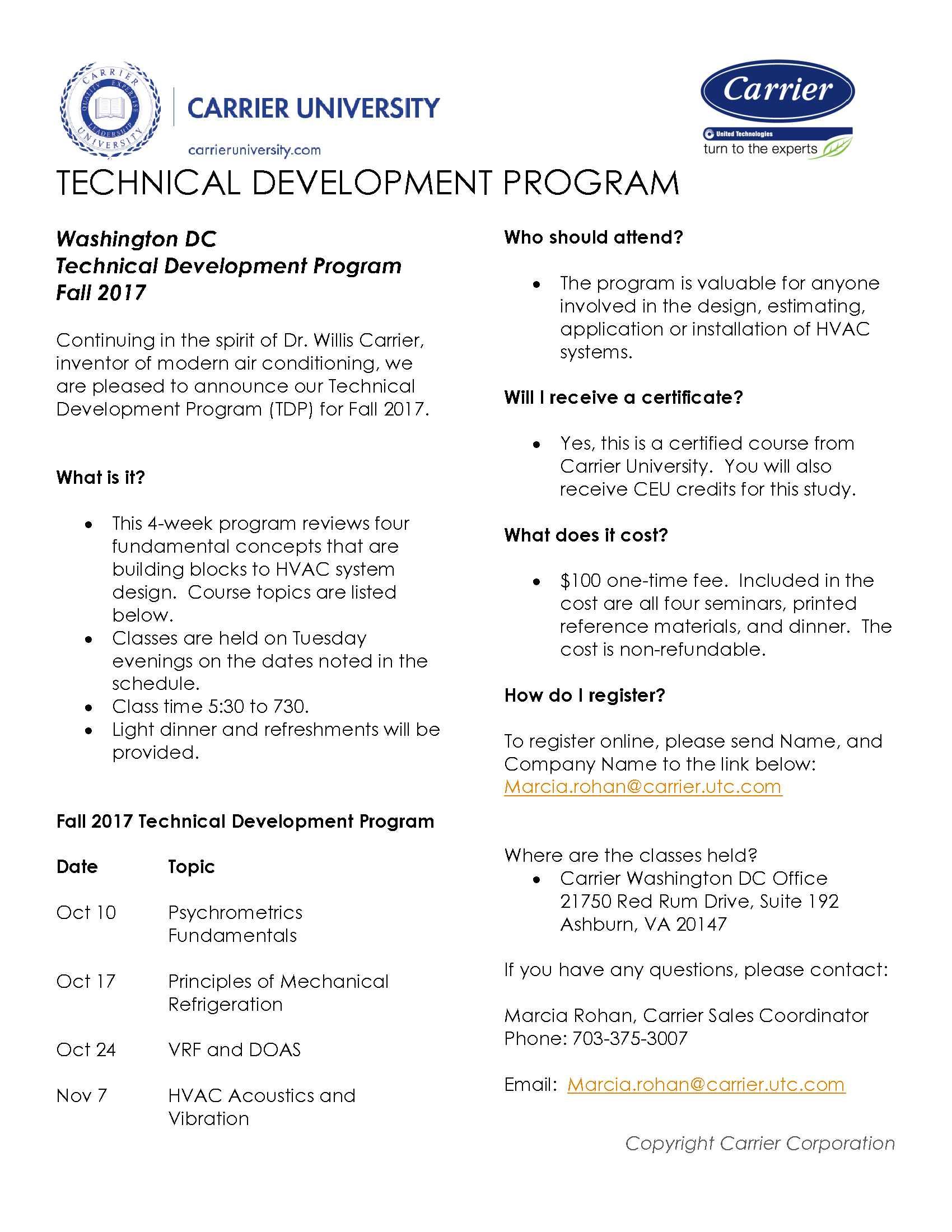 TDP Flyer PNG file