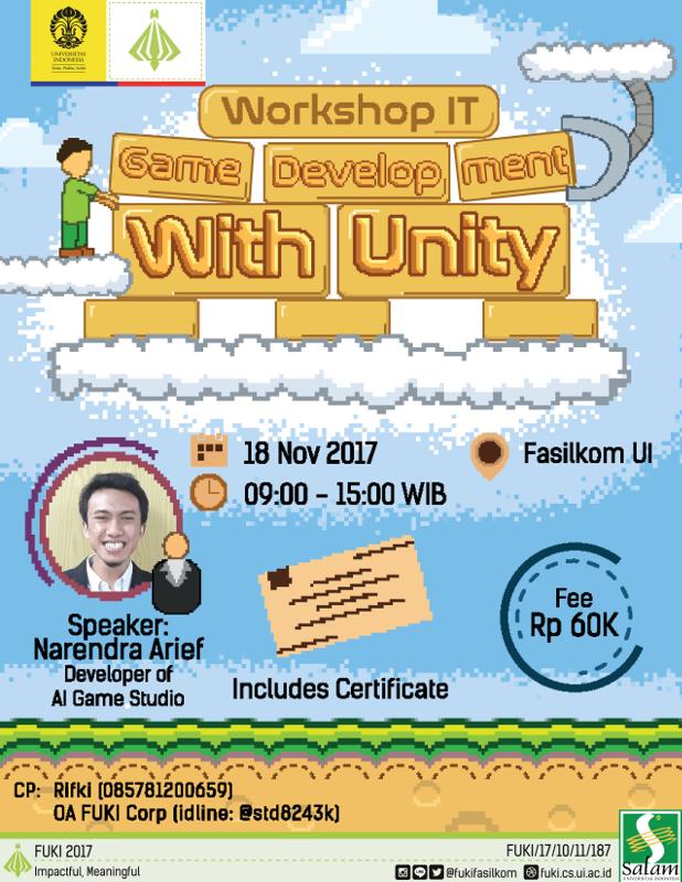 Workshop IT Game Dev