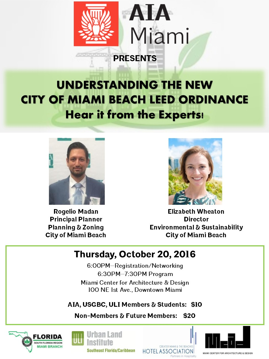 City Of Miami Beach Zoning Ordinance