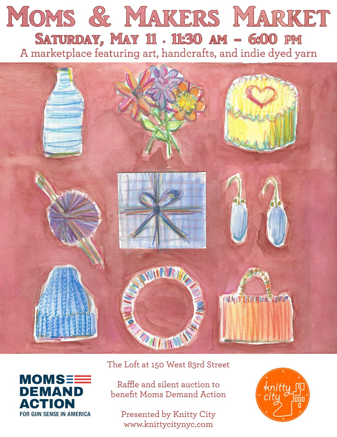 Moms & Makers poster