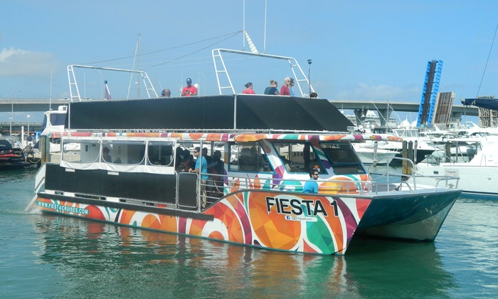 Link To Video Of The Miami Boat Party