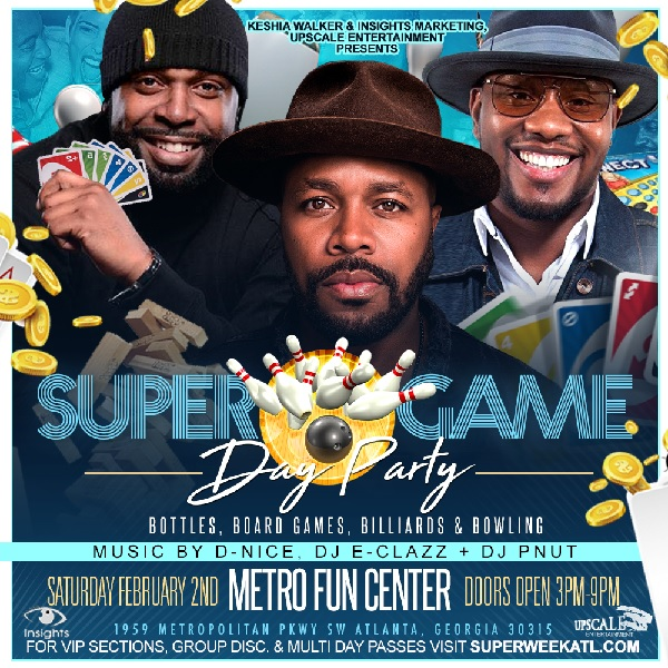 Super Game Day Party Super Bowl 19