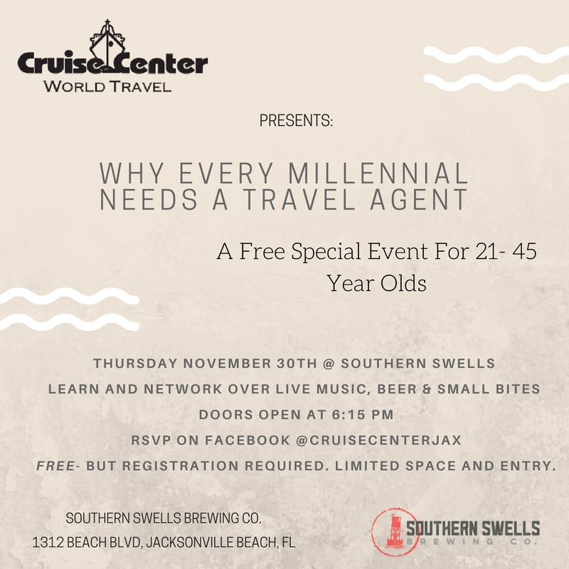 Cruise Center- Southern Swells Event