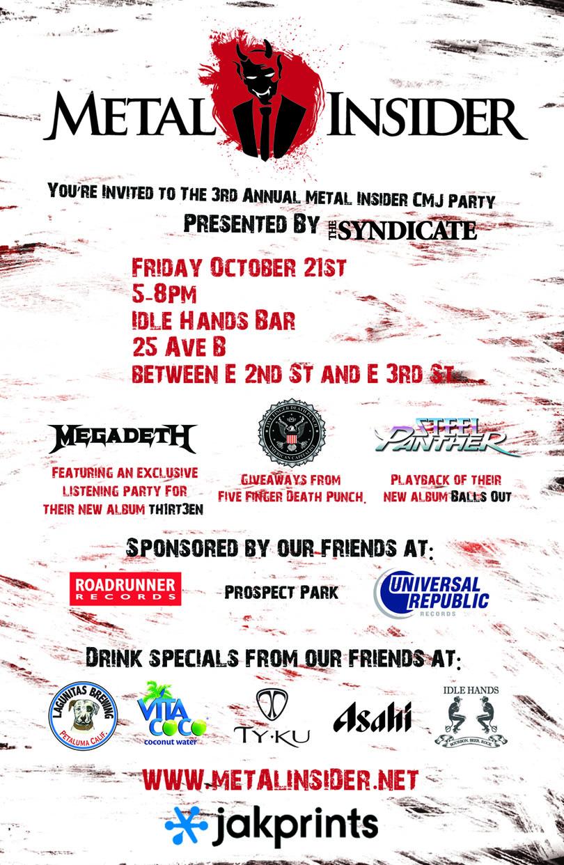 Metal Insider Invite