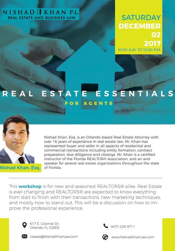 Real Estate Essentials flyer