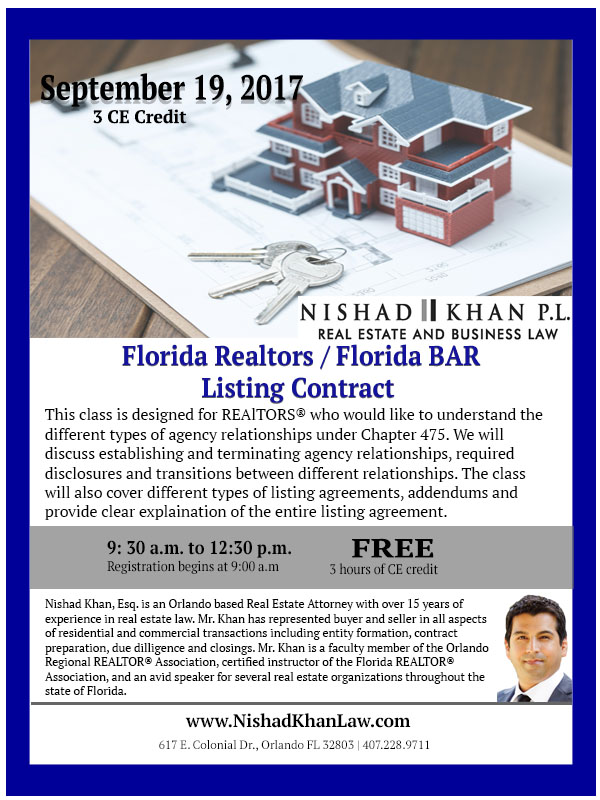 9.19.17 Listing Contract