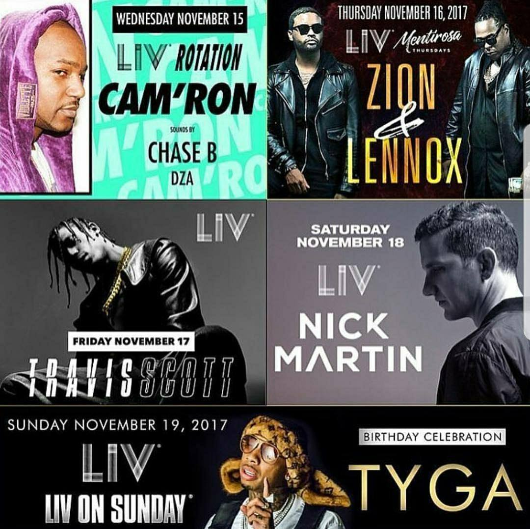 LIV MIAMI -STORY CLUB