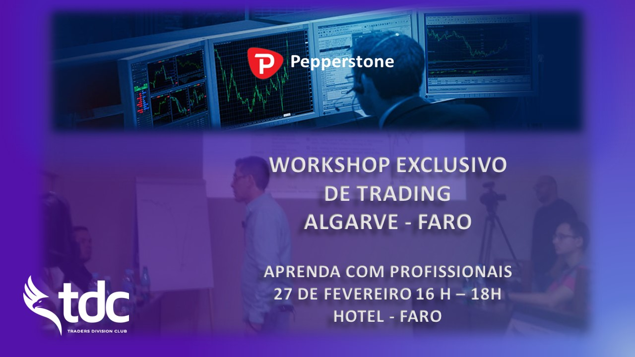 WORKSHOP EXCLUSIVO DE FOREX TRADING PARA TRADERS INICIANTES – FARO ALGARVE