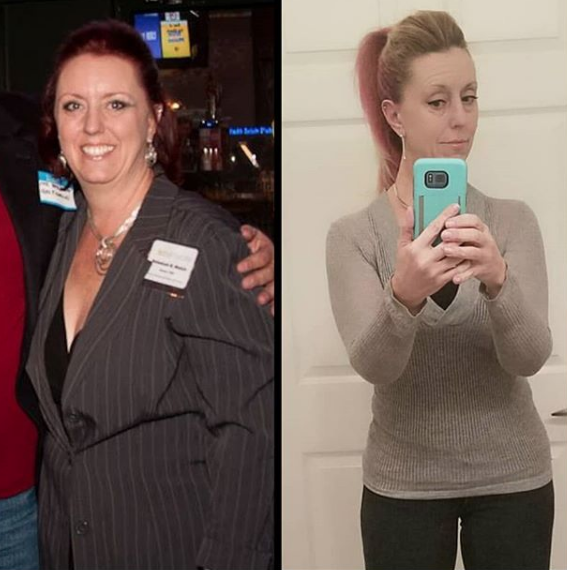 Rebekah Welch Successful Weighs Before and After Weight Loss