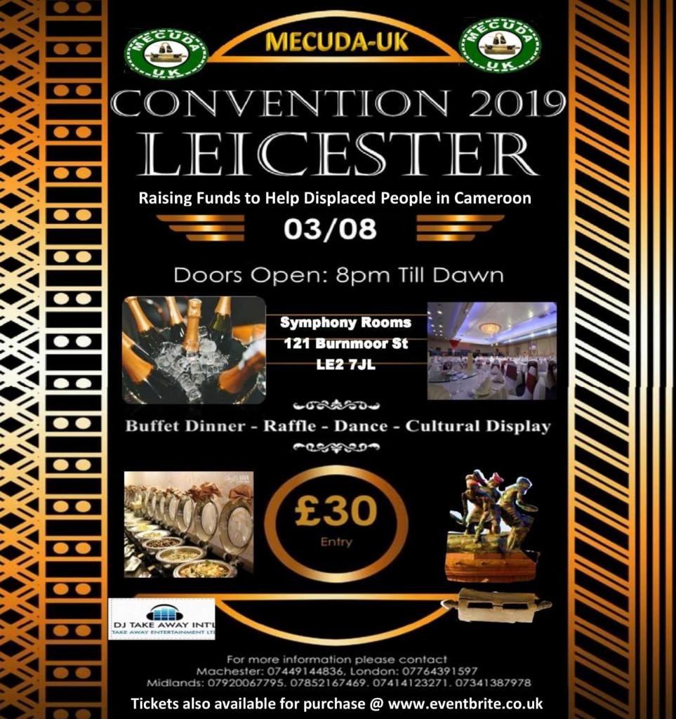Official Flyer of Mecuda UK Convention