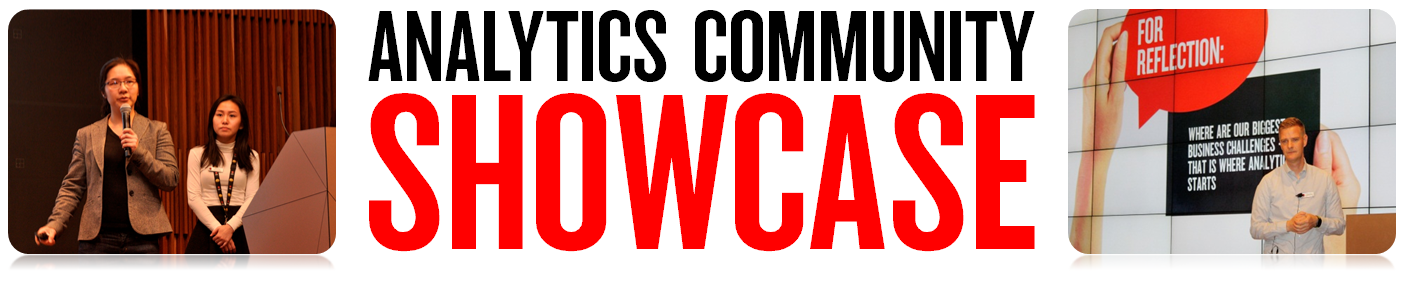 Analytics Showcase Banner