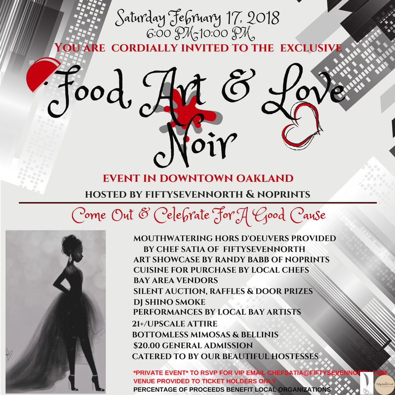 Food, Art & Love Noir