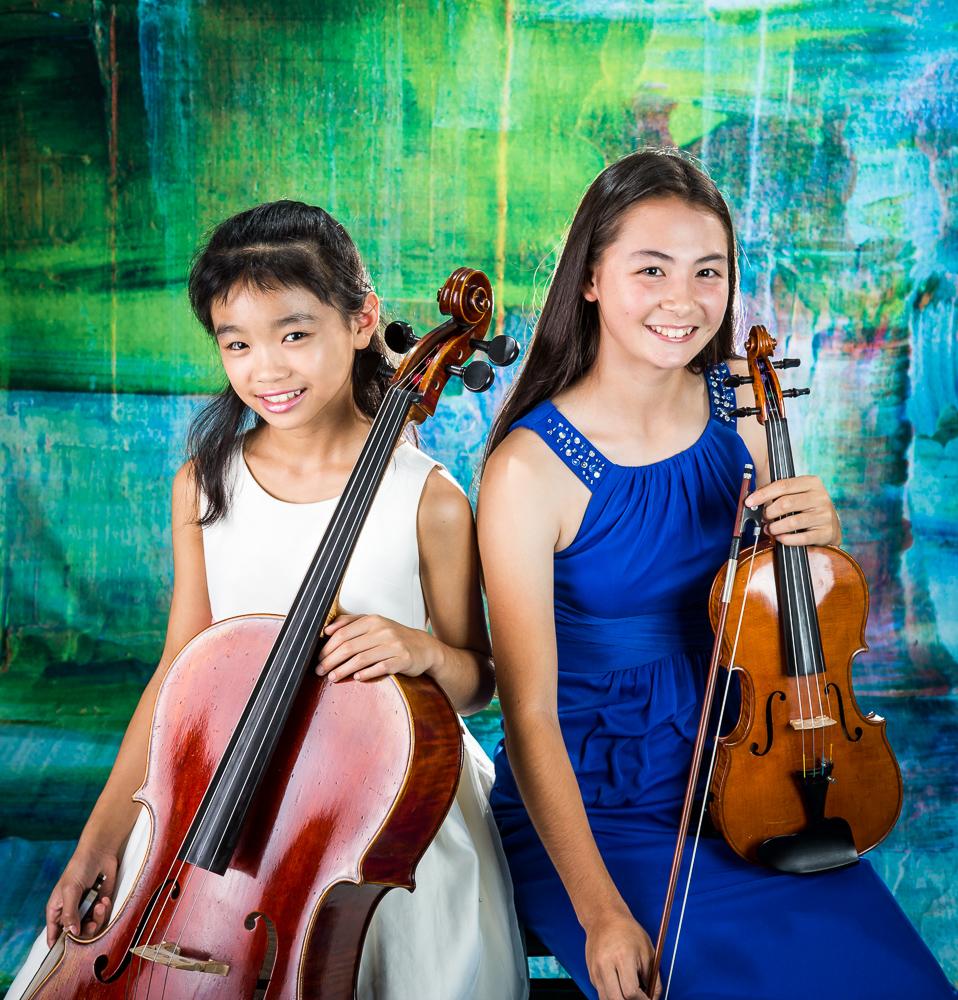 Fiona Tsang and Cassandra May