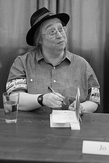 Jo Walton at a book signing