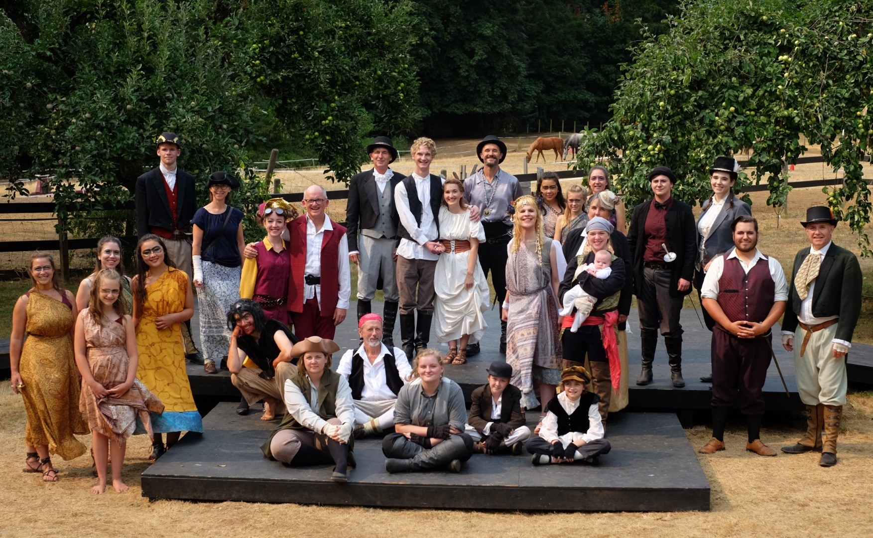 The Tempest Cowichan Cast