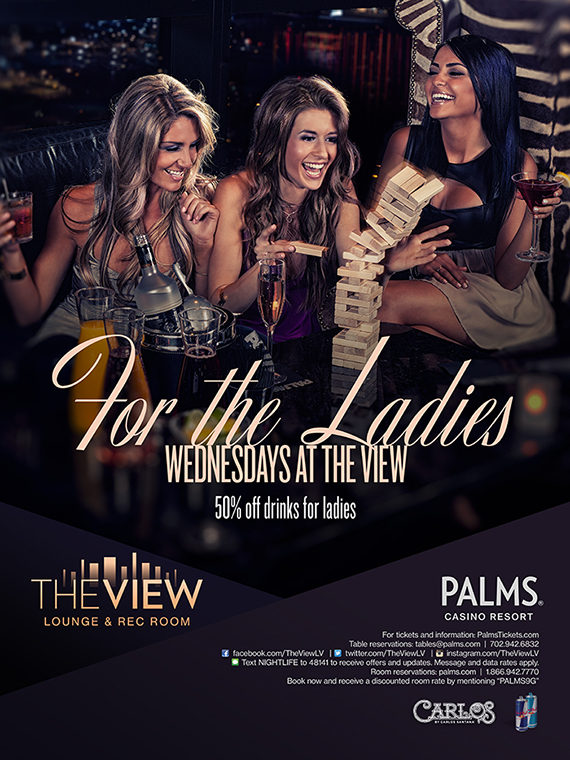 For the Ladies Wednesdays at The View