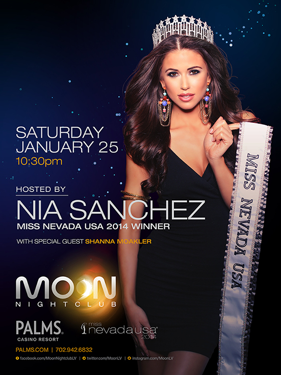 Moon Nightclub hosted by Miss Nevada 2014