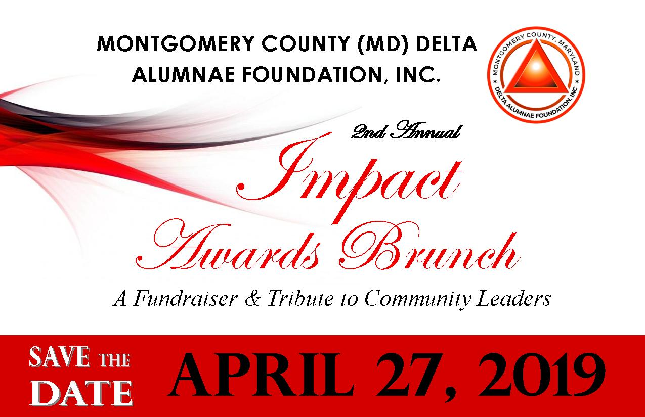 2019 Impact Save the date