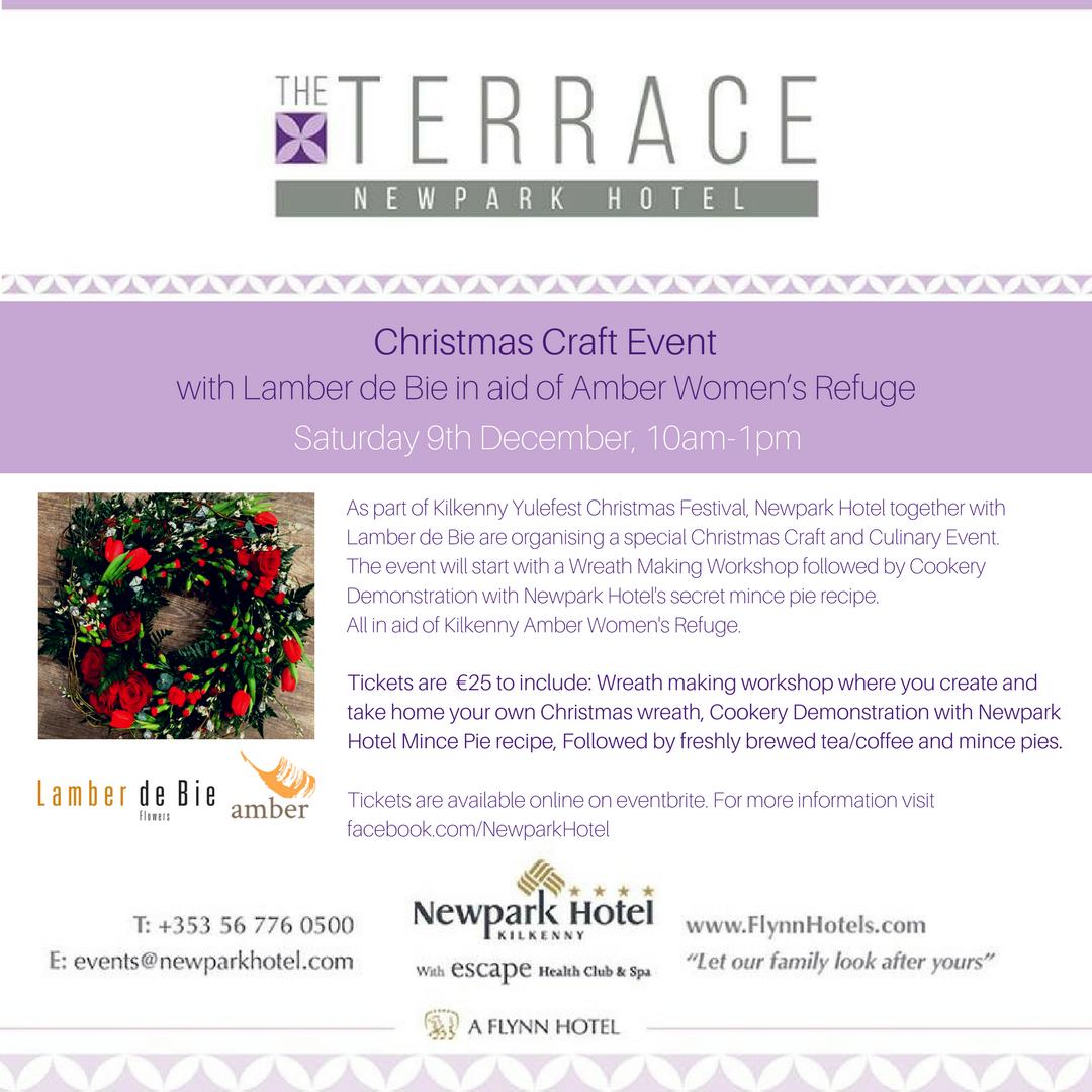 Newpark Hotel Christmas Craft Event