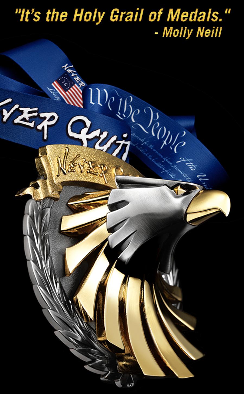 Virtual run medal