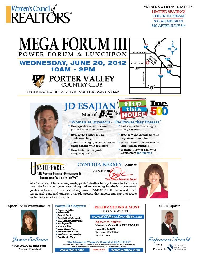 WCR Mega Forum III