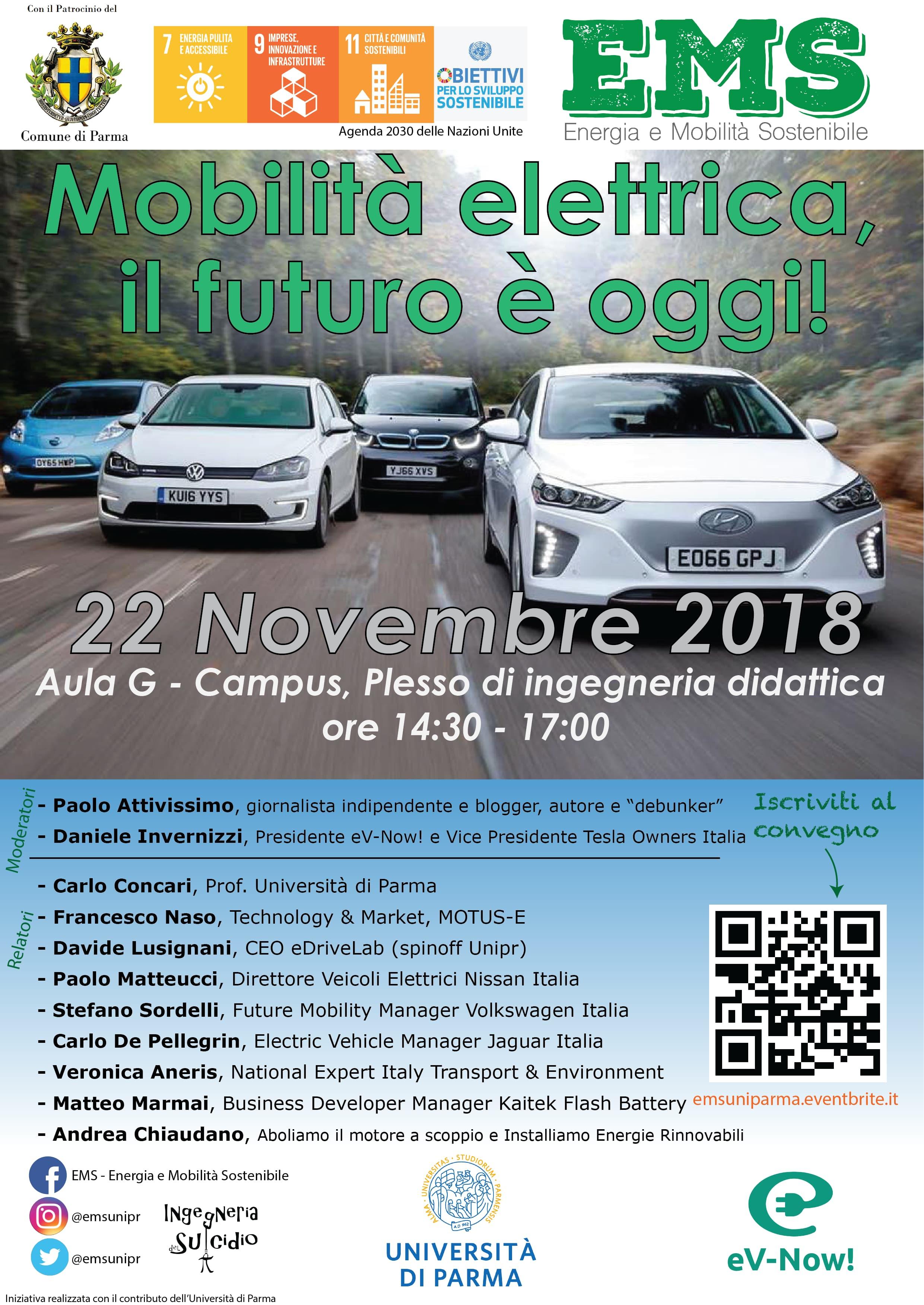 Convegno Mobilità Elettrica il futuro è oggi