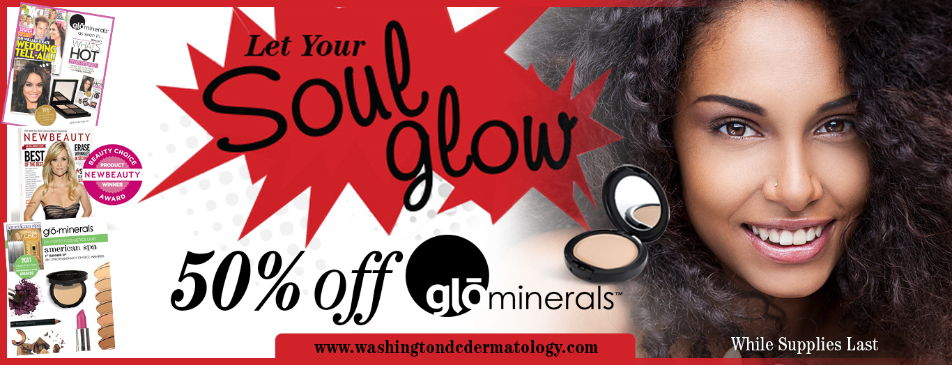50% off glo minerals sale