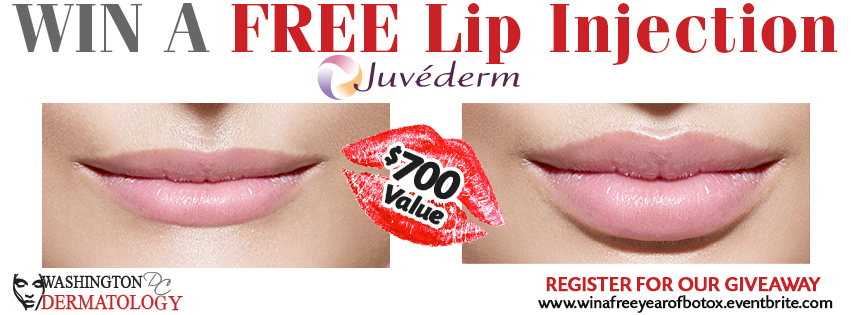 Win a Free Lip Injection