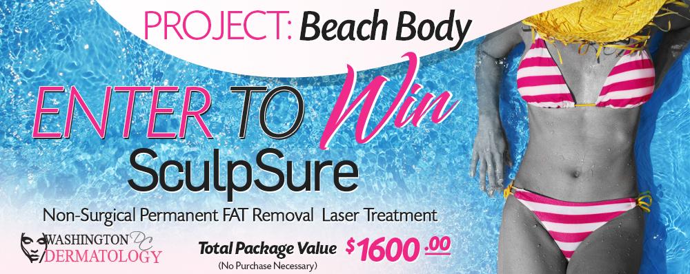Win A Free SculpSure $1600 Treatment
