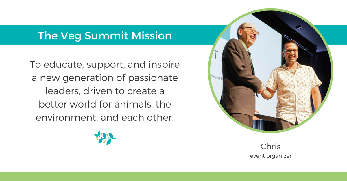 Veg Summit 2019 Mission