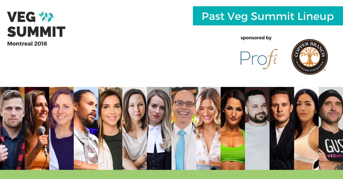 Veg Summit 2018 Lineup