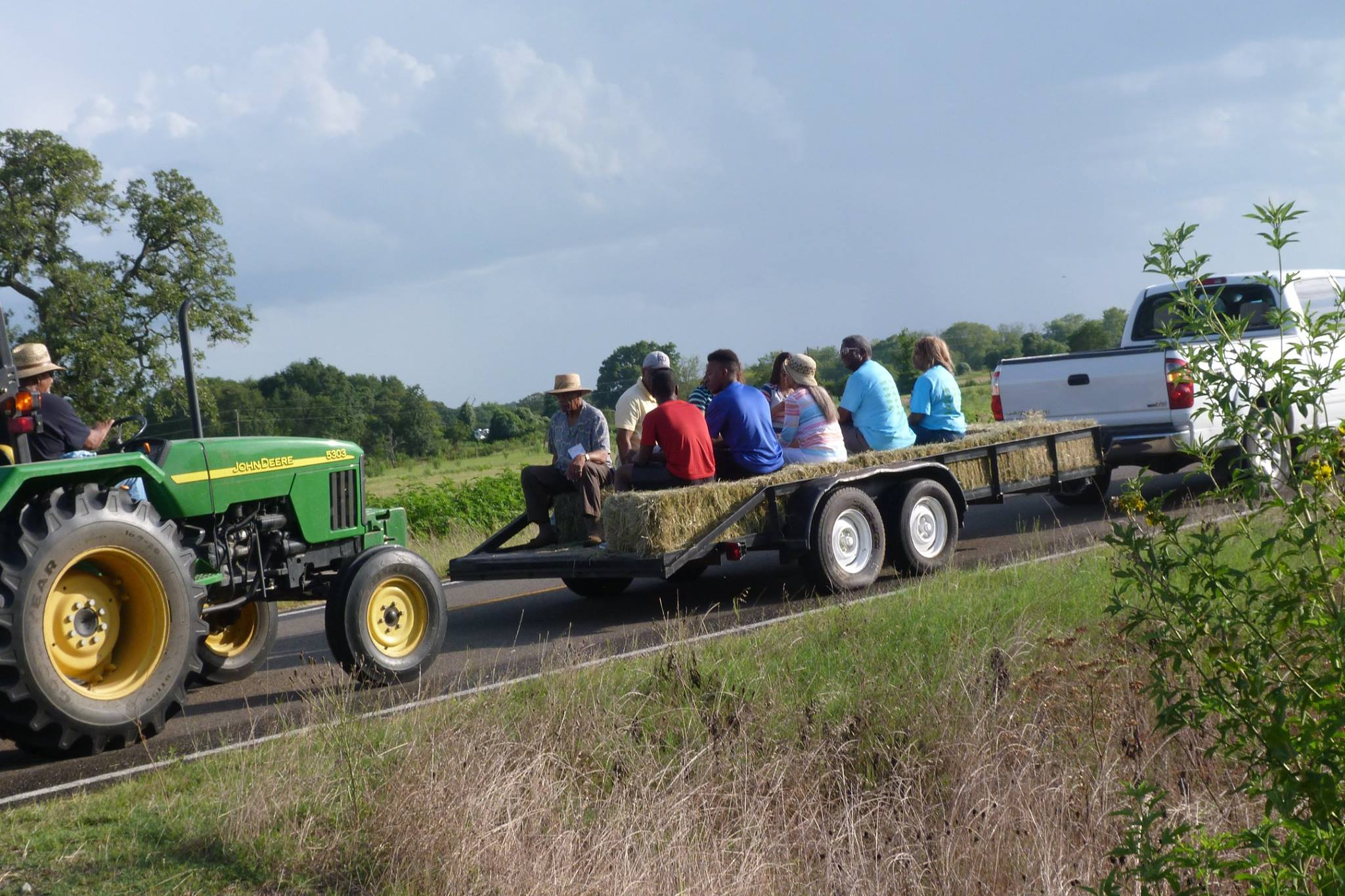 Hayride in Lincoln, Texas