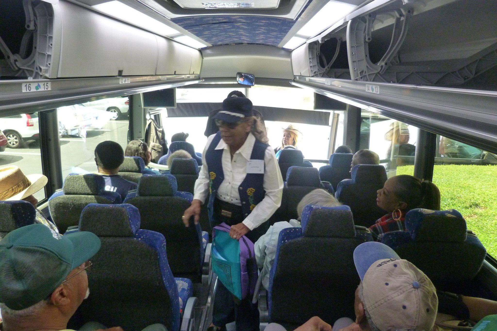 Bus Trip from Austin, Texas to Lincoln, Texas 2017 Reunion