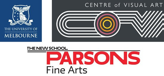 Proudly supported as part of a partnership between Parsons Fine Arts (Parsons School of Design, The New School) and the Centre of Visual Art (University of Melbourne).