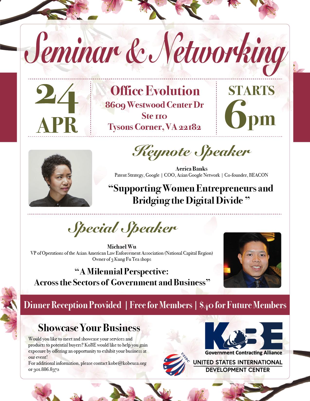 seminar and networking