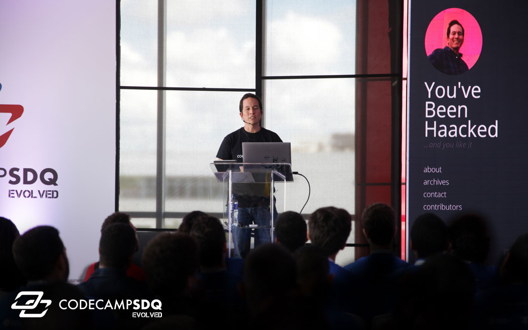 CodeCampSDQ - The biggest technology conference in the Caribbean