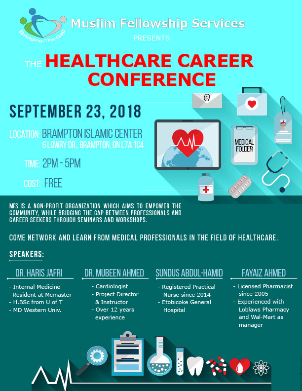 MFS Healthcare Career Conference Poster