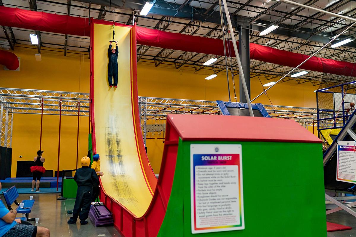 26 feet Vertical Slide Drop