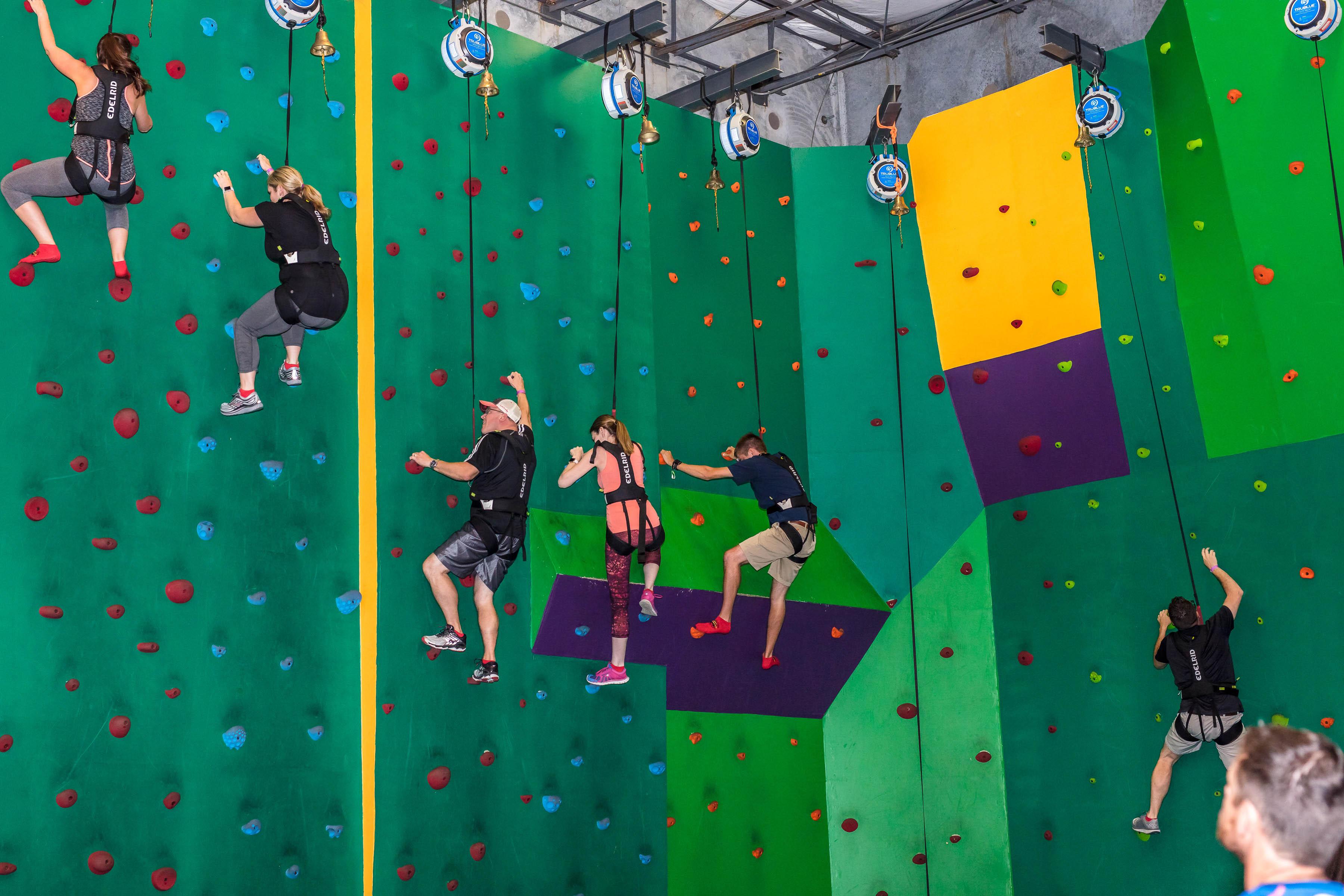 Rock-climbing Wall