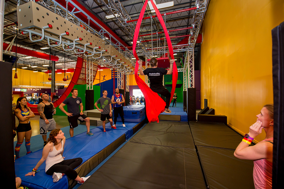 Planet Obstacle Ninja Warrior Course