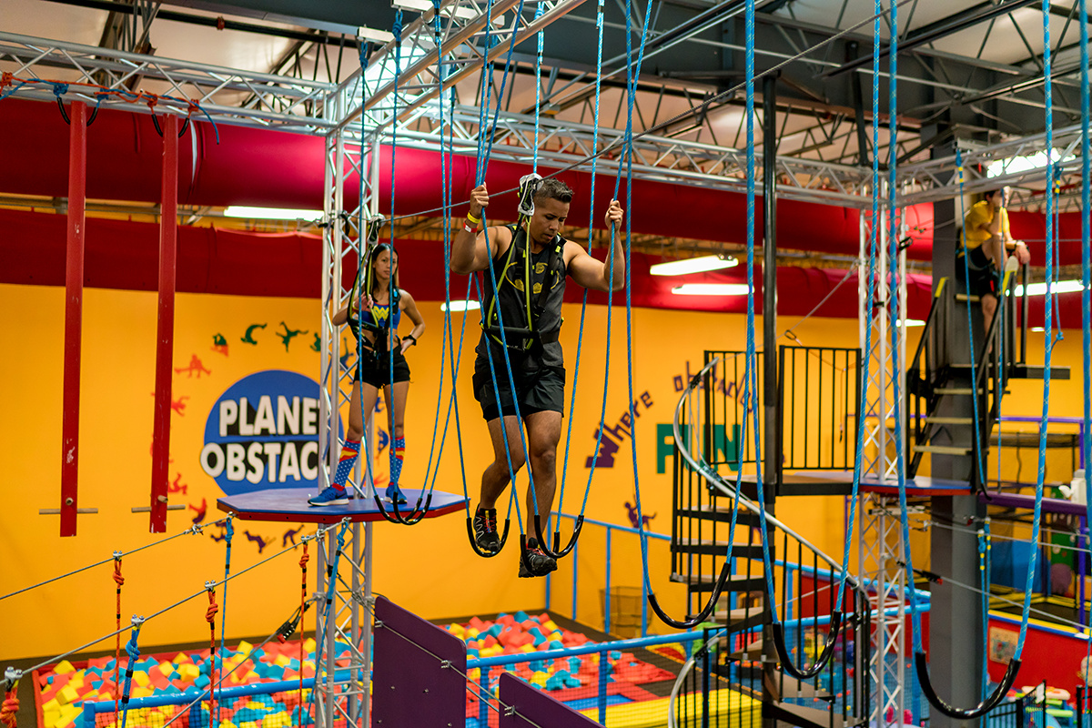 Planet Obstacle's Ropes Course