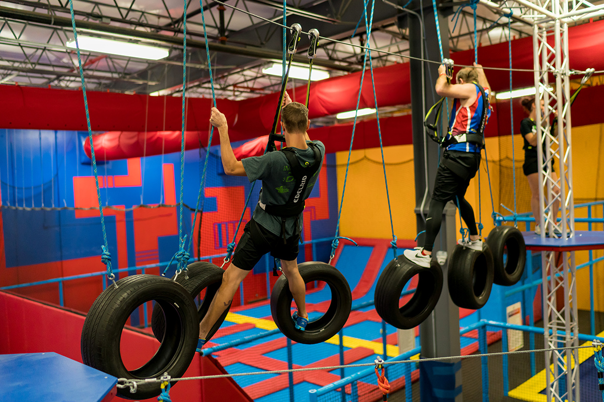 Planet Obstacle Ropes Course