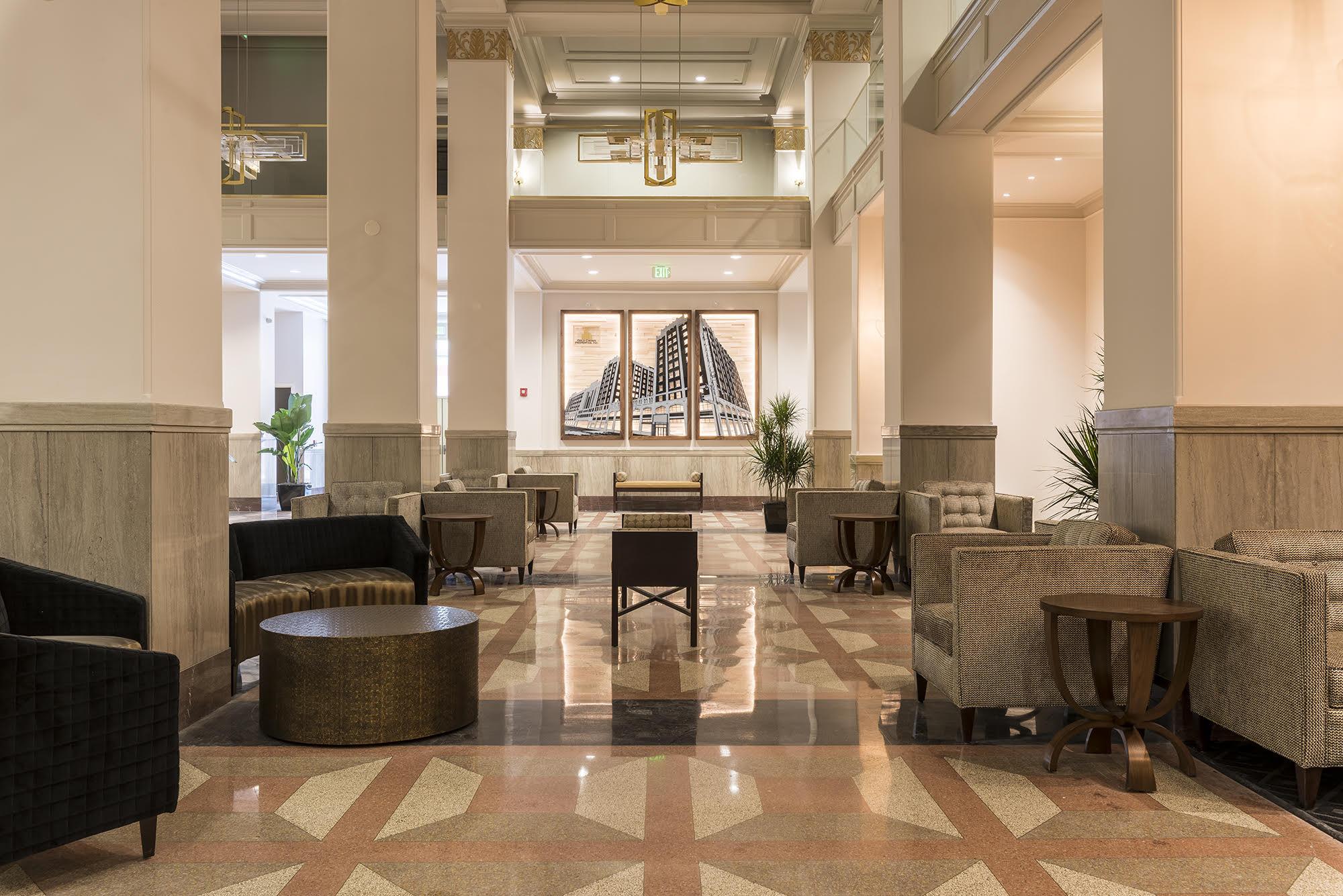 Renovated Pickwick Lobby - 2017