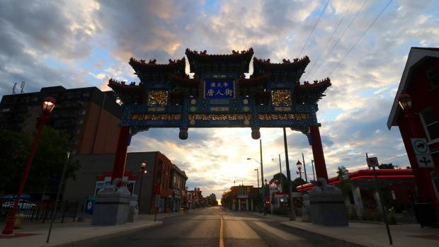 Ottawa Chinatown Royal Arch (Trevor Pritchard/CBC)