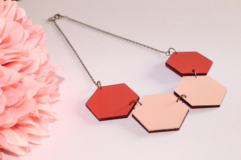 hexagon necklaces work shop ireland